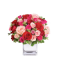Treasure of my Heart – Buchet cu trandafiri si minirosa