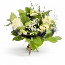 Pure Feelings – Buchet din 3 trandafiri albi