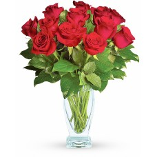 Ruby Rose – Buchet cu 13 trandafiri rosii