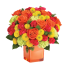 Good Karma – Buchet cu trandafiri, crizanteme si garoafe