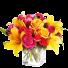 Floral Art – Buchet cu trandafiri si crini