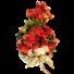Merry Christmas - Aranjament cu poinsettia si amaryllis 1