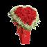 Suflet Pereche - Aranjament trandafiri si gypsophila